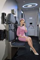 MC-21 flight attendant seat