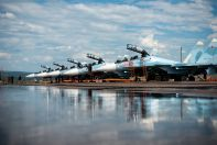 Su-30SM squadron of the Russian AF