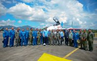 Russian Knights and RMAF pilots