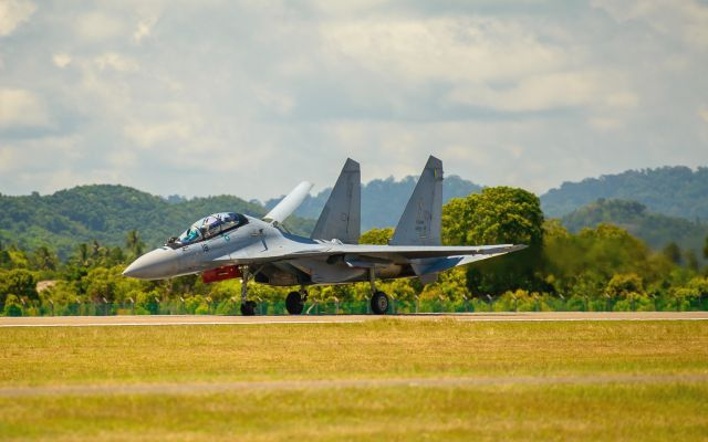 Su-30MKM of the Royal Malaysian Air Force
