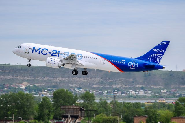 MC-21-300 first flight