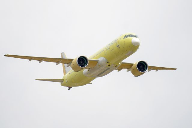 The second MC-21-300 aircraft joined the flight test program