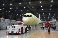 Irkut Corporation completed construction of the fourth MC-21-300 flight test aircraft