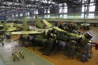 Final assembly shop of Irkutsk aviation plant
