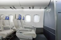 MC-21 business-class passenger seats