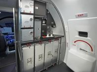 MC-21 fore galley unit
