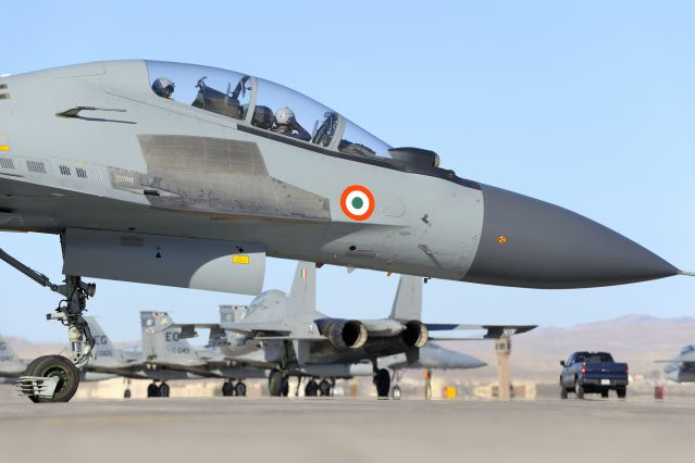 Su-30MKI of the Indian Air Force